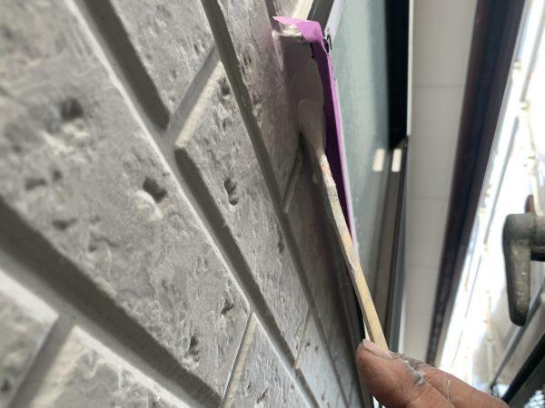 手直し塗装作業状況