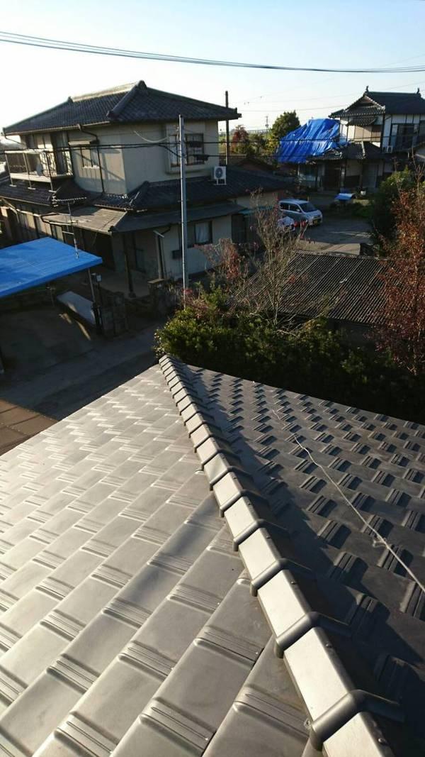 熊本市南区富合町 S様邸 平板防災瓦葺き替え工事サムネイル