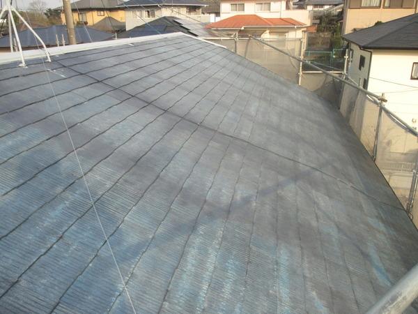 熊本市南区城南町 S様邸 鉄部錆び止め 屋根下塗り作業サムネイル