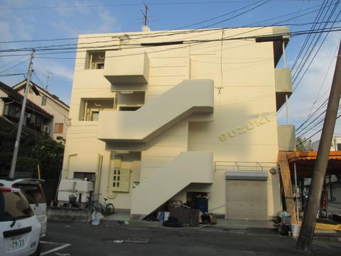 熊本市中央区黒髪 Cビル外壁塗装工事サムネイル