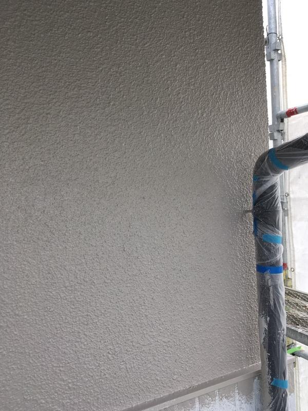 菊池郡菊陽町原水  K様邸   外壁、天井中塗り上塗りサムネイル
