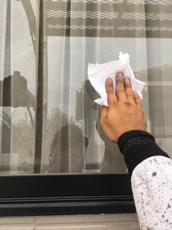 菊池郡菊陽町原水  K様邸   下屋根上塗り、サッシ周り掃除、窓拭き、サムネイル