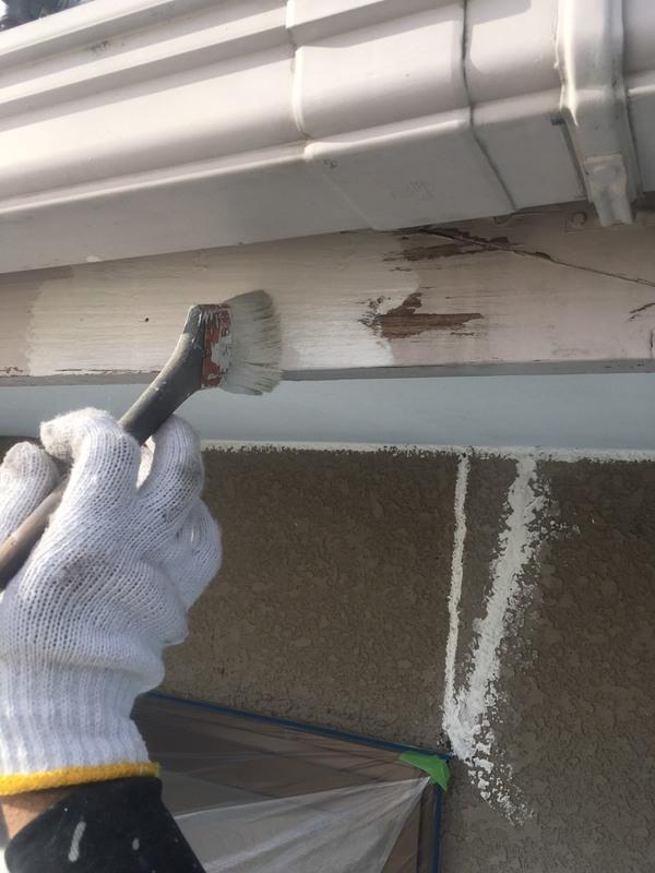 益城町広崎 K様邸外壁塗装工事サムネイル