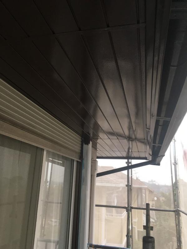 熊本市北区飛田 T様邸屋根及び付帯部塗装工事サムネイル