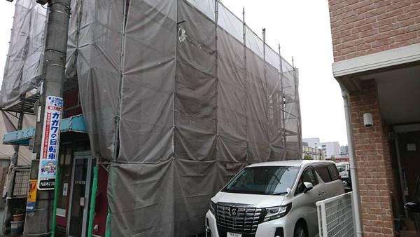 熊本市中央区九品寺 N様邸外壁塗装工事サムネイル