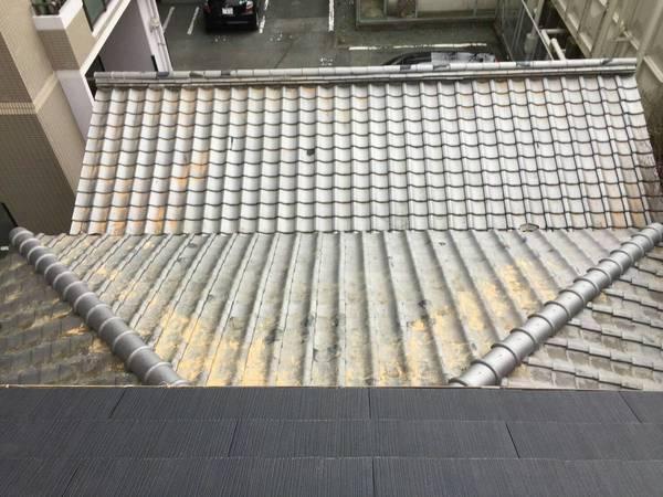 熊本市中央区万町 耐震強化棟施工瓦工事サムネイル