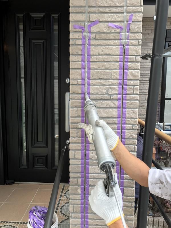 熊本市東区御領 K様邸屋根外壁塗装工事 WBアート工法サムネイル