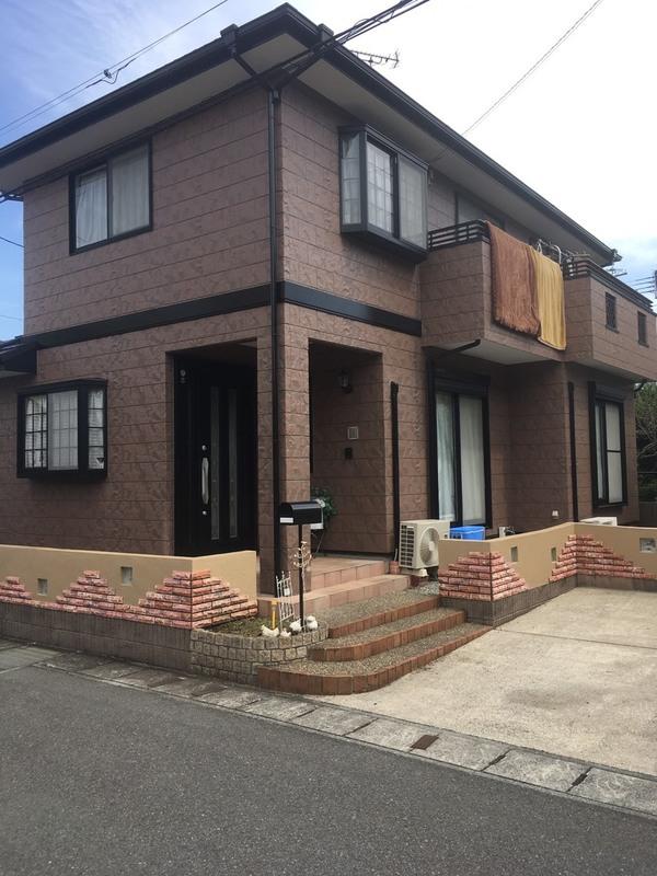 熊本市南区城南町 H様邸 塀塗装サムネイル