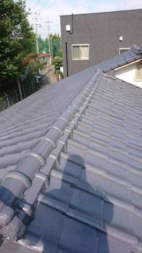 熊本市中央区保田窪 H様邸 屋根塗装工事サムネイル