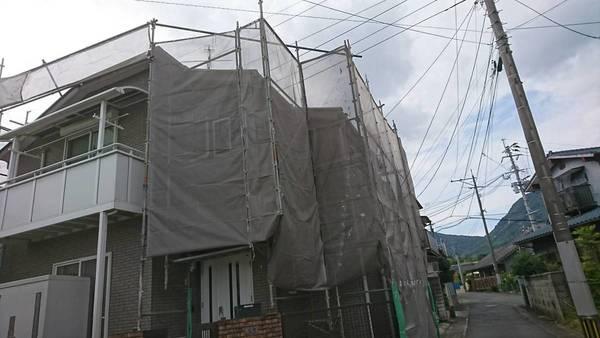 熊本市西区島崎 M様邸屋根外壁塗装工事サムネイル