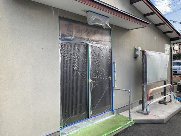 鳶町公民館ボランティア塗装工事サムネイル