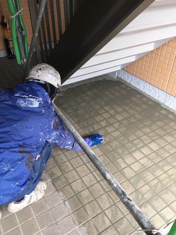 熊本市東区神水 メゾン神水屋根外壁塗装工事サムネイル