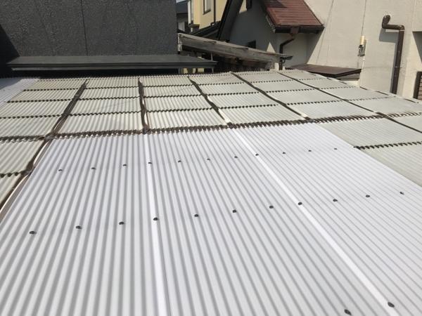 宇土市松山町 ベランダ床防水塗装、タキロン張替え工事サムネイル