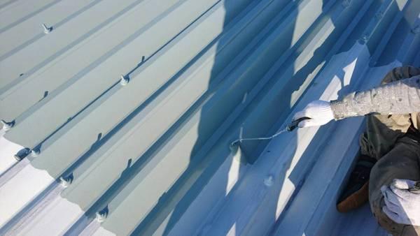熊本市中央区九品寺 アパート切半屋根遮熱塗装工事サムネイル