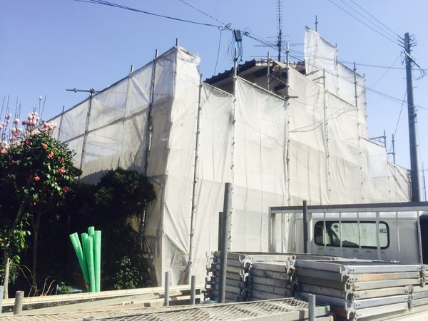 熊本市南区野口 F様邸外壁塗装及び屋根葺き替え工事サムネイル