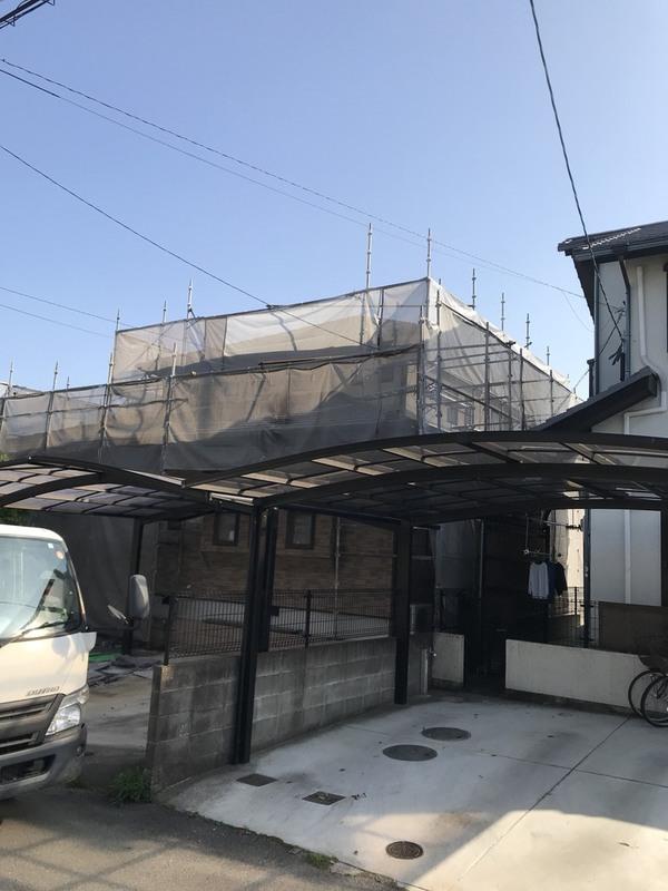 熊本市西区島崎 N様邸屋根外壁塗装工事サムネイル