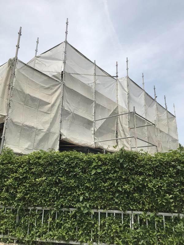玉名市築地 K様邸屋根遮熱塗装工事サムネイル