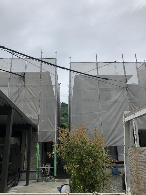 熊本市西区小島 S様賃貸戸建屋根塗装工事サムネイル