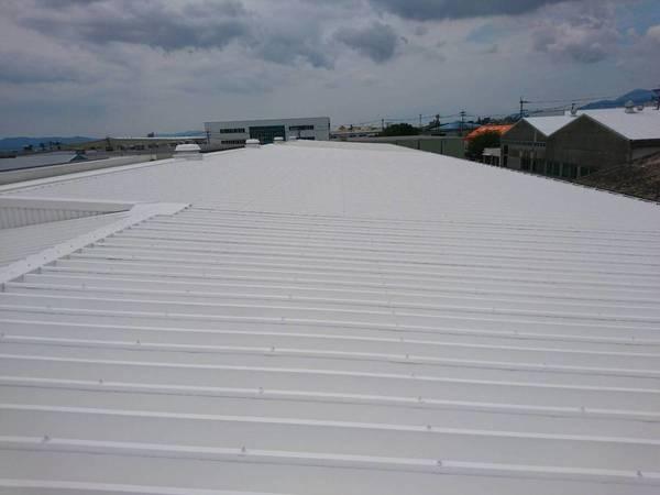 上益城郡益城町 フクワ物流様屋根遮熱防水塗装工事サムネイル