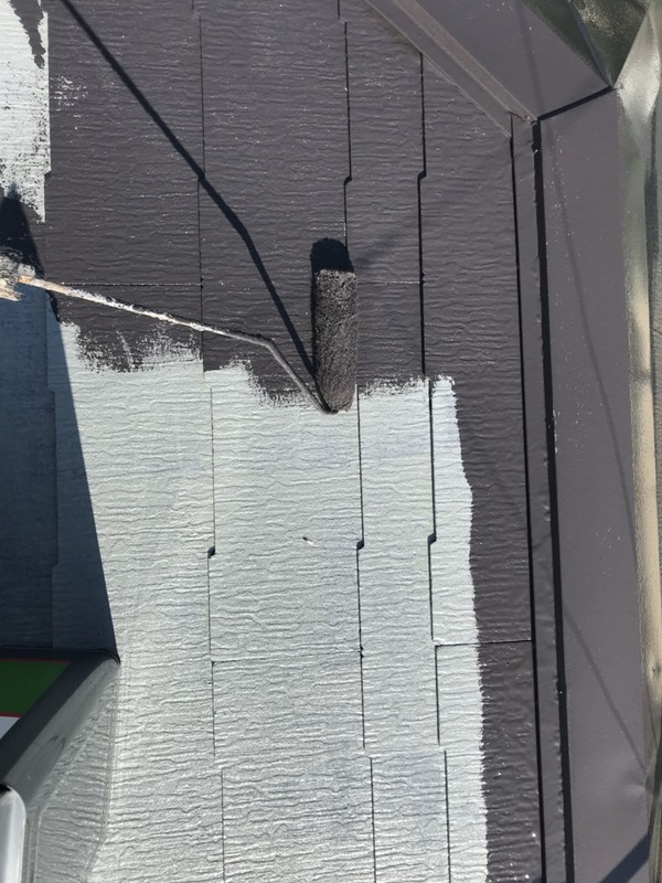 熊本市西区小島 戸建賃貸屋根塗装工事サムネイル