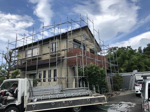 上益城郡嘉島町 S様邸屋根外壁塗装工事サムネイル