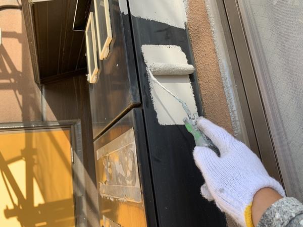 熊本市中央区帯山 マンション外壁塗装工事サムネイル
