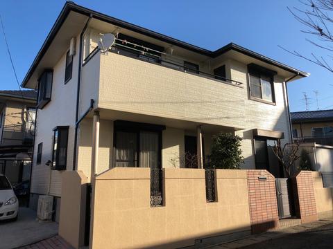熊本市中央区上水前寺 W様邸屋根外壁塗装工事サムネイル