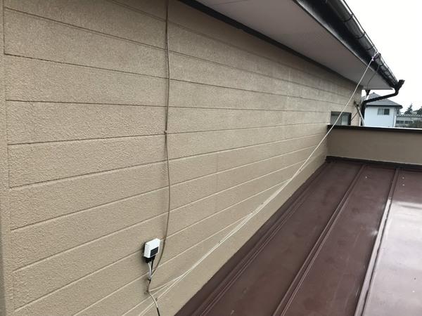 菊池郡菊陽町原水 I様邸外壁塗装工事サムネイル