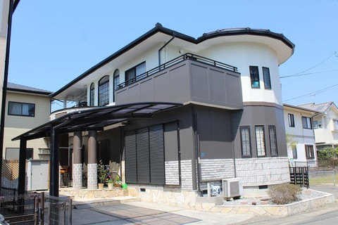 熊本市南区合志 A様邸屋根外壁塗装工事サムネイル