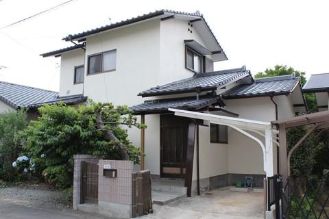 熊本市東区長嶺東 K様邸屋根外壁塗装工事サムネイル