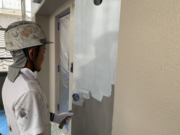 熊本市東区保田窪 マンション外壁塗装工事サムネイル
