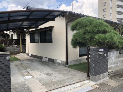 熊本市東区花立 I様邸屋根外壁塗装工事サムネイル