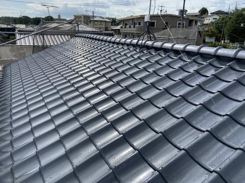 熊本市北区龍田 Y様邸屋根塗装工事サムネイル