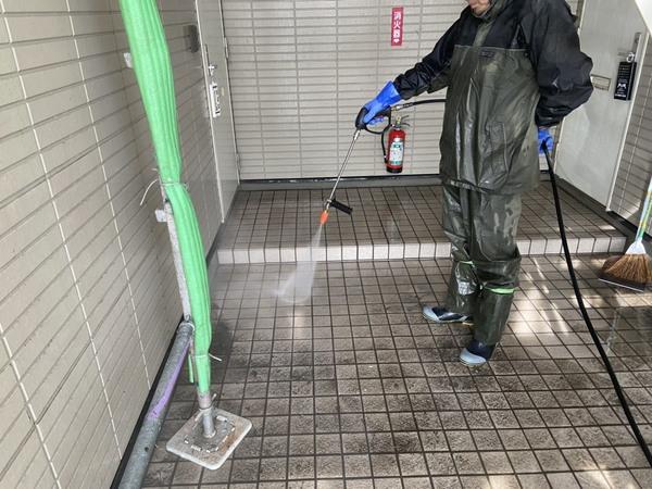 熊本市南区 Pアパート屋根外壁塗装工事サムネイル