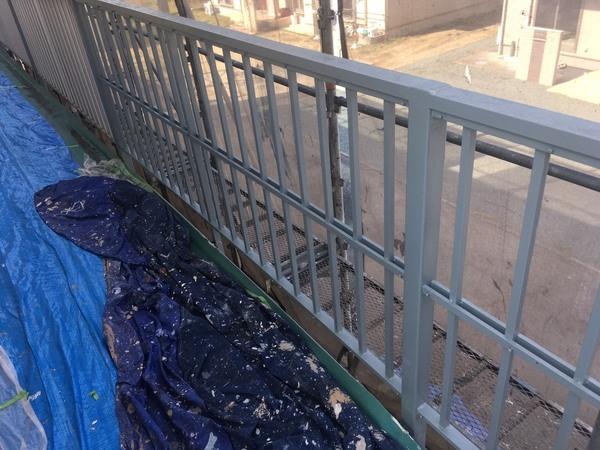 熊本市西区池田 アパート屋根外壁塗装工事サムネイル
