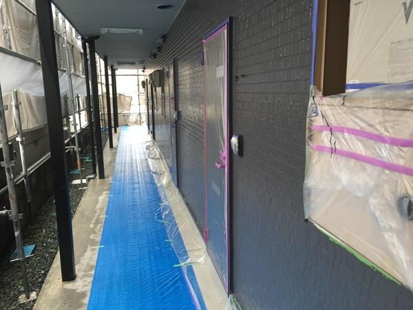 熊本県菊池郡大津町 アパート屋根外壁塗装工事サムネイル