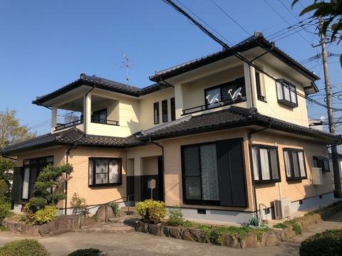 熊本市南区富合町 Y様邸外壁塗装工事サムネイル