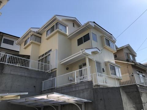 熊本市北区麻生田 N様邸屋根外壁塗装工事サムネイル