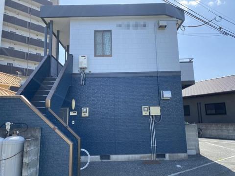 熊本市中央区出水 アパート屋根外壁塗装工事サムネイル