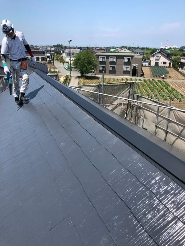 熊本市南区土河原町 H様邸屋根塗装工事サムネイル
