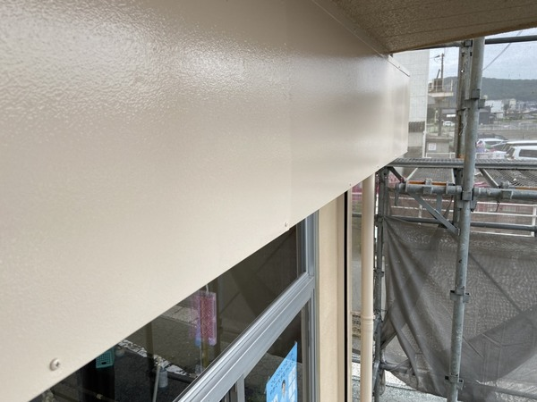 熊本市北区高平 アパート屋根外壁塗装工事サムネイル