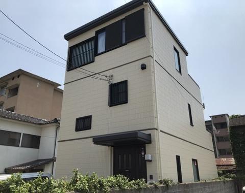 熊本市中央区九品寺 屋根外壁塗装工事