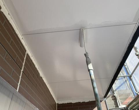 熊本市南区アパート屋根外壁塗装工事