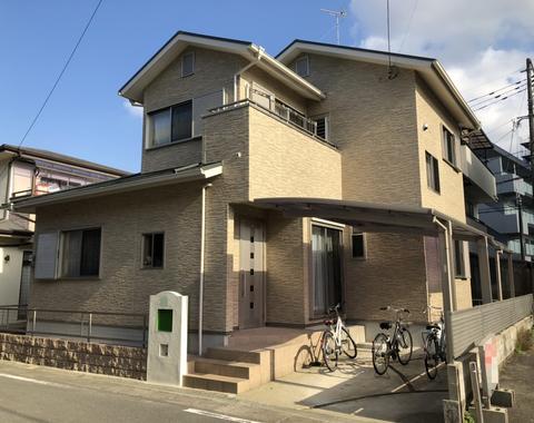 熊本市中央区 O様邸屋根外壁塗装工事
