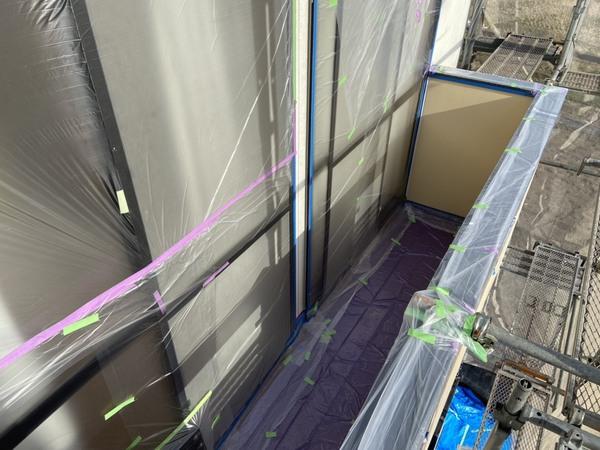 菊池市アパート 屋根外壁塗装工事サムネイル