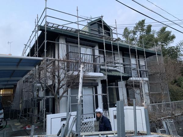 熊本市北区 N様邸屋根外壁塗装工事サムネイル