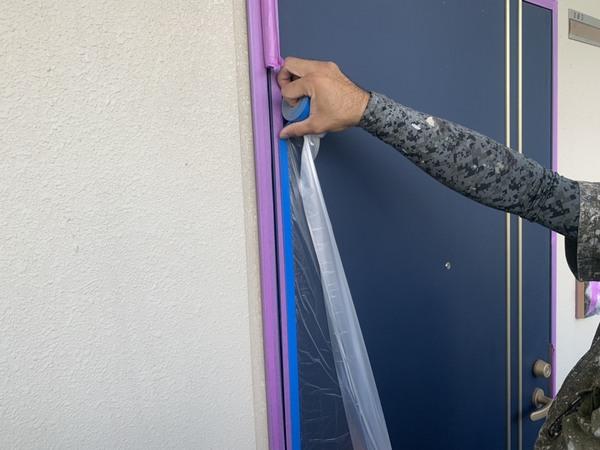 熊本市北区 マンション内部通路塗装工事サムネイル