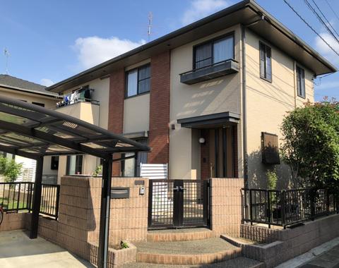 熊本市西区 I様邸屋根外壁塗装工事