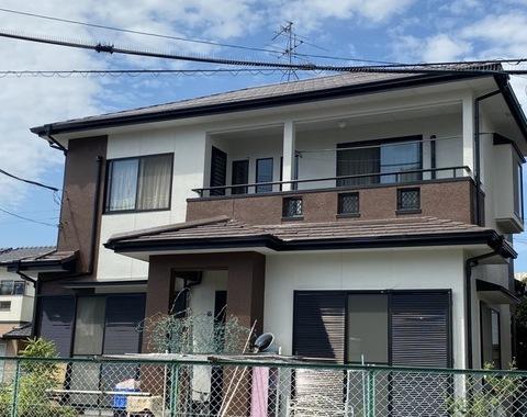 熊本市東区 U様邸屋根外壁塗装工事