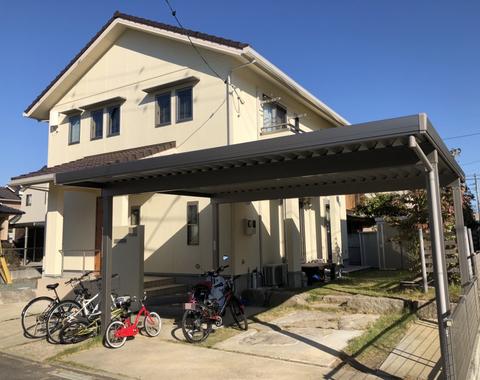 熊本市北区 U様邸外壁塗装工事